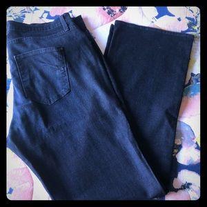 Plus size James Jeans, slim boot curvy, size 20.
